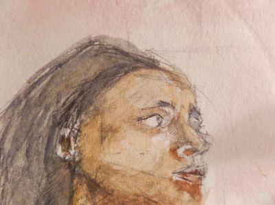 Janis - self portrait