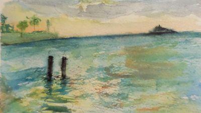 Dickensen Bay, Antigua W.I.